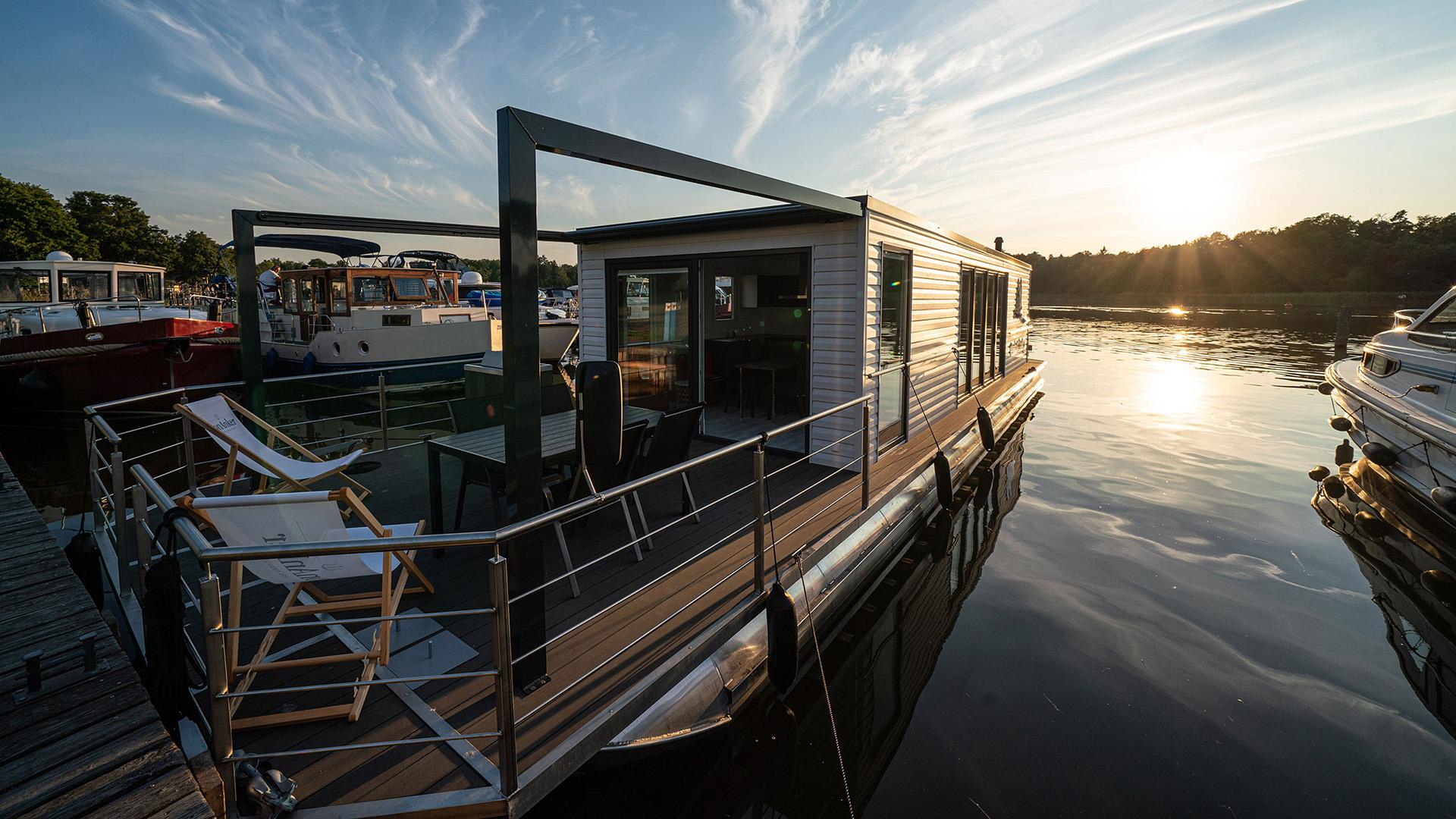 Werbefotografie für vonAnker Hausboote